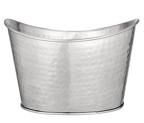 <h5>Large Metal Champagne Cooler</h5><p>Holds 5-7 Bottles </p>