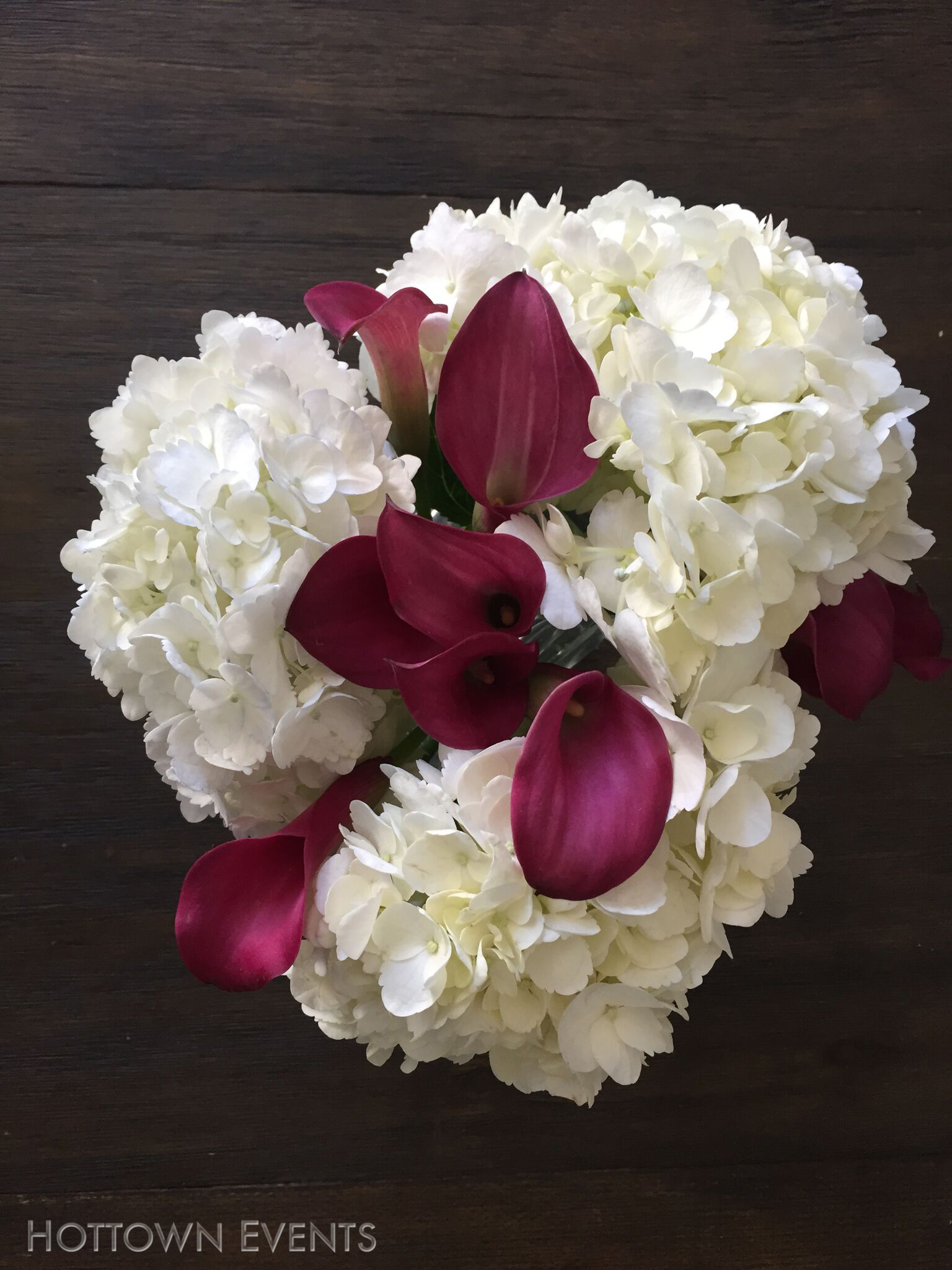 <h5>Peonies & Lily table top arrangement</h5>