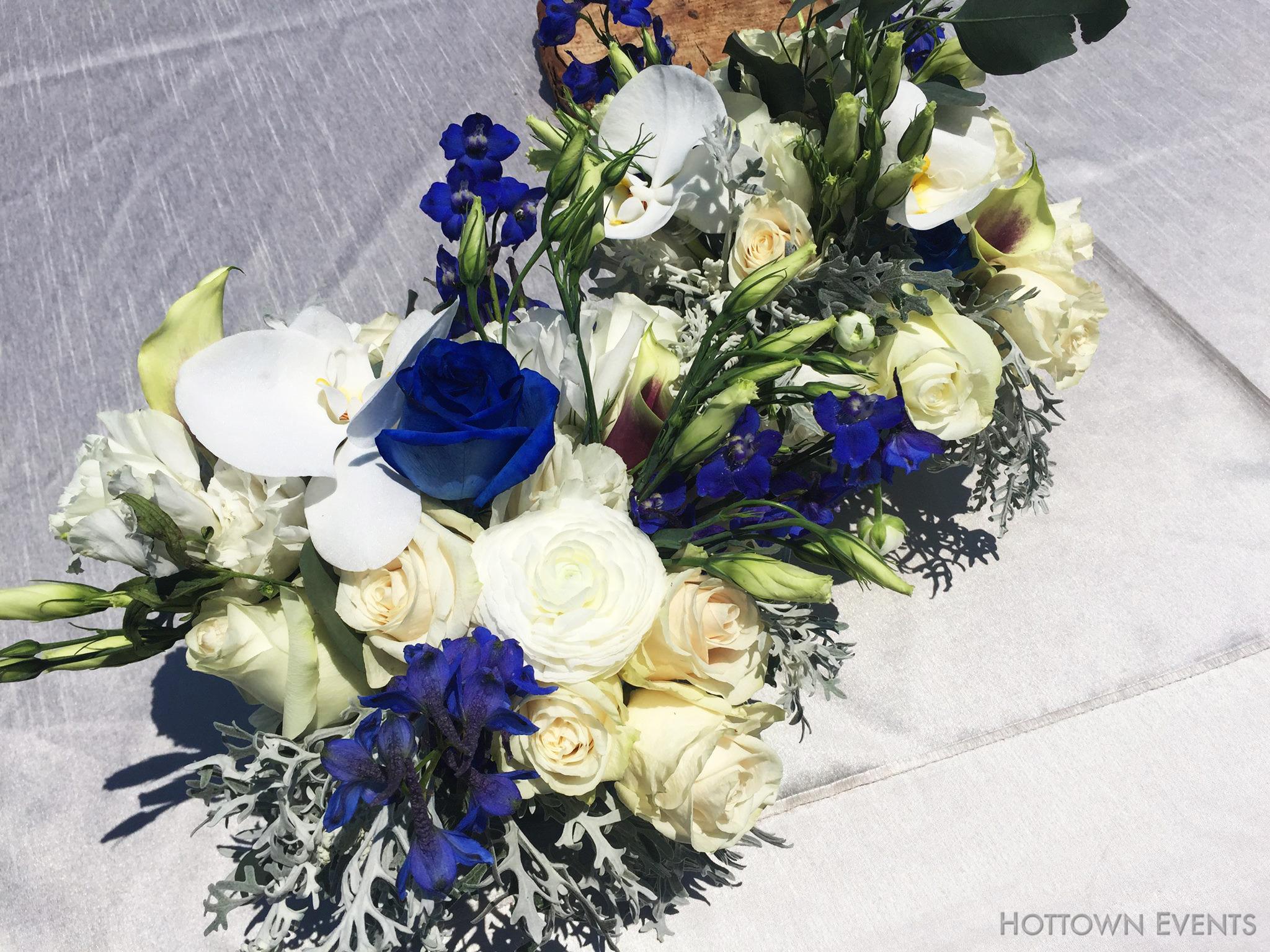 <h5>Multi floral table top arrangement</h5>